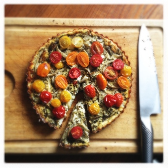 Tomato and Fennel Tart