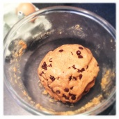 Peanut Butter and Chocolate Chip Cookie Dough