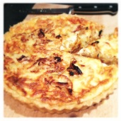 Lincolnshire Poacher and Caramelised Onion Quiche