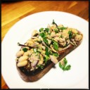 Tuna, Cannellini Bean, Red Onion, Parlsey, Lemon Juice and EVOO on Toasted Sourdough